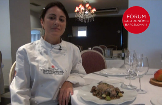 Ana Maria Tengo del Restaurant Can Major finalista per Cuinera de l'any 2014